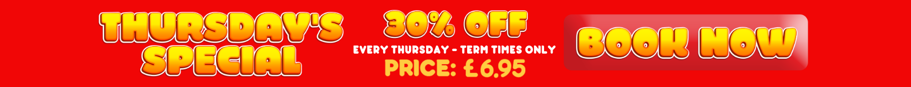 Every thursday - term times only